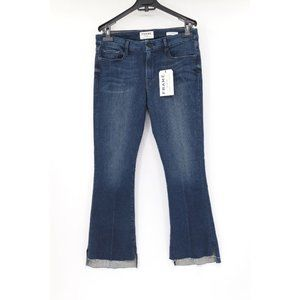 NWT Frame women's 31 Le Crop mini Boot jeans